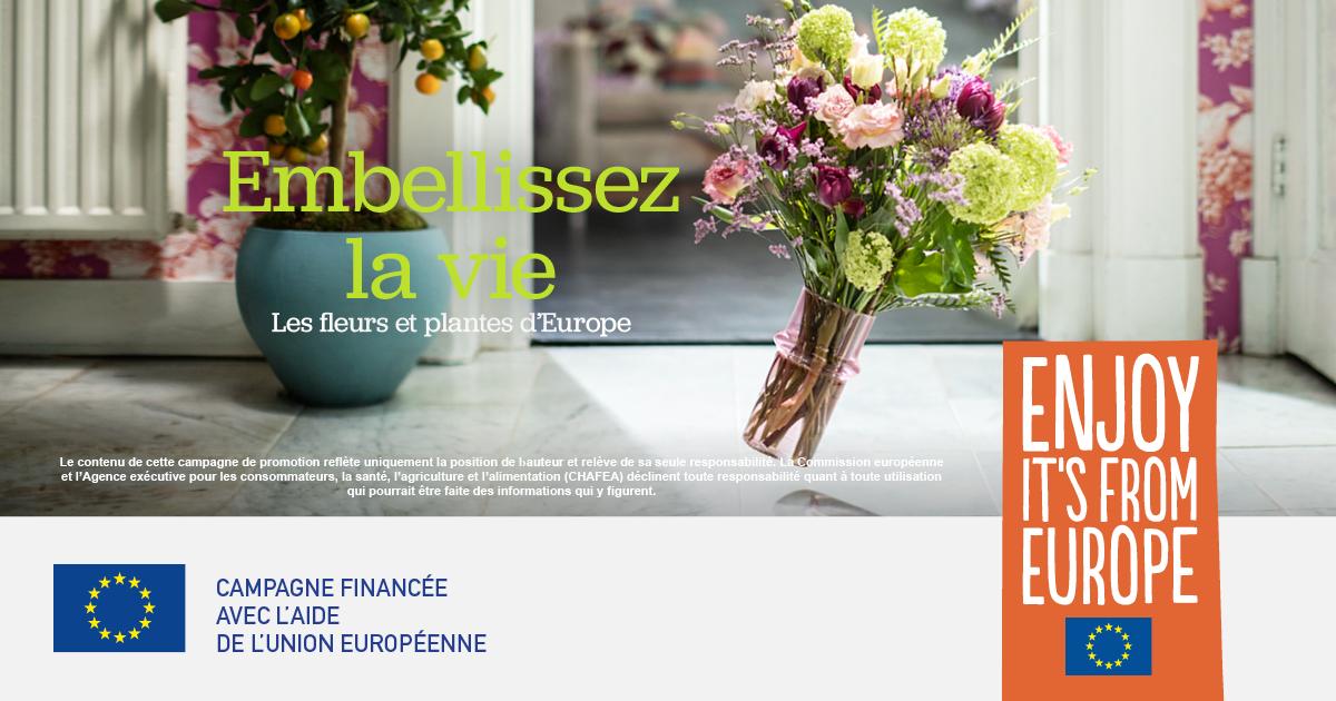 Embellissez la vie - Campagne UE