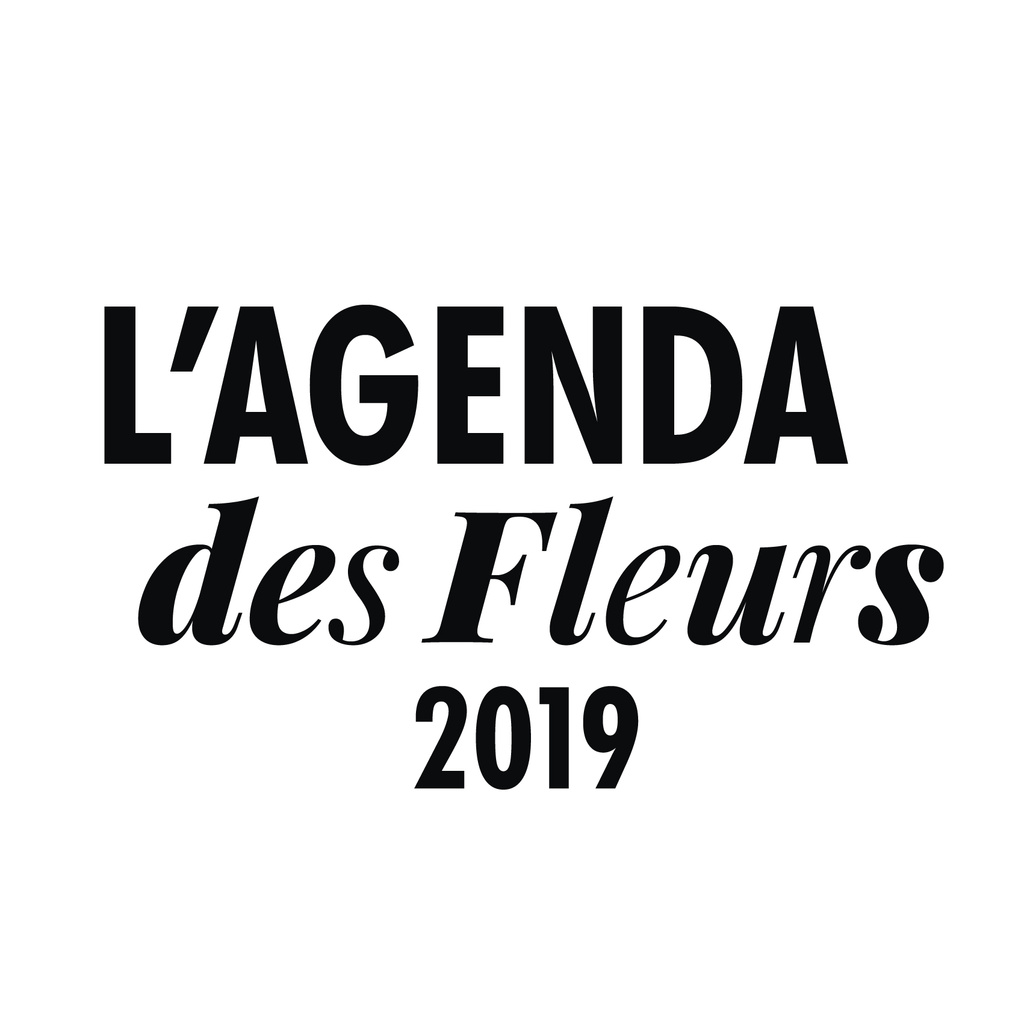 L'agenda des fleurs 2019