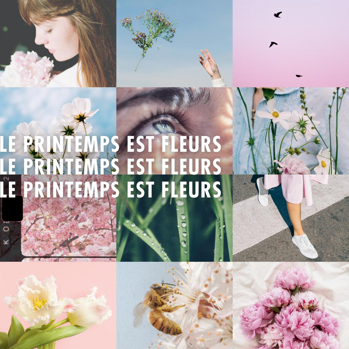 Le printemps est fleurs