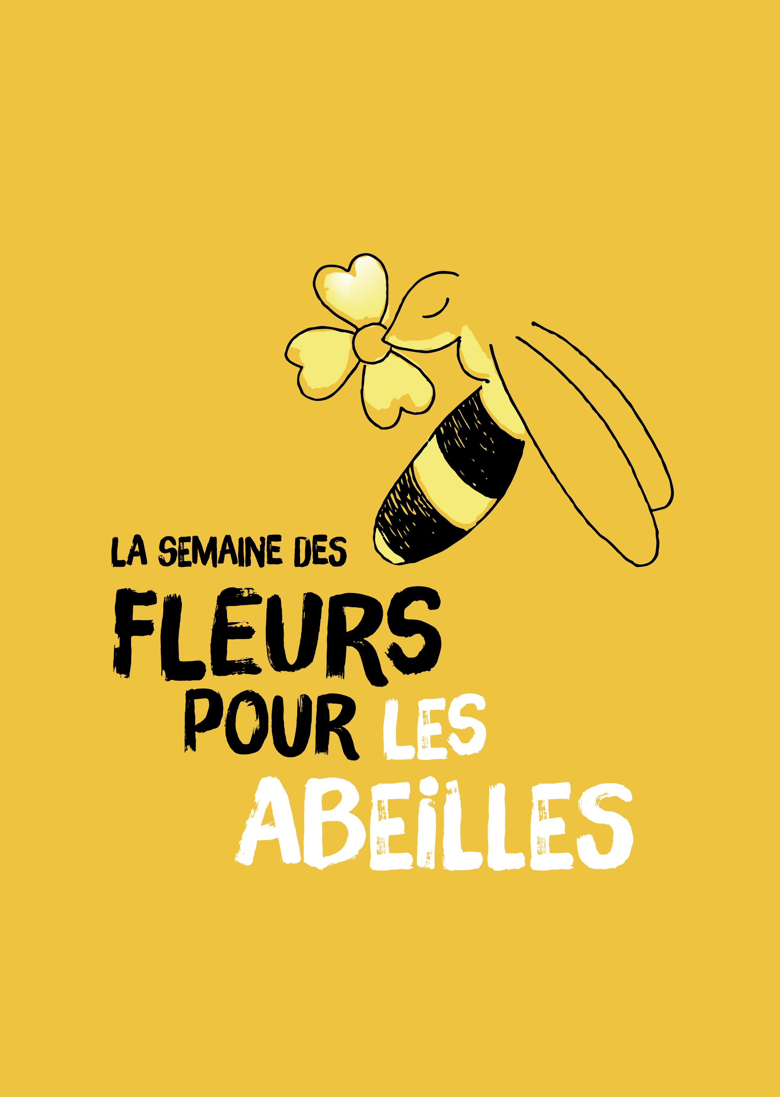 Semaine des fleurs pour les abeilles - logo
