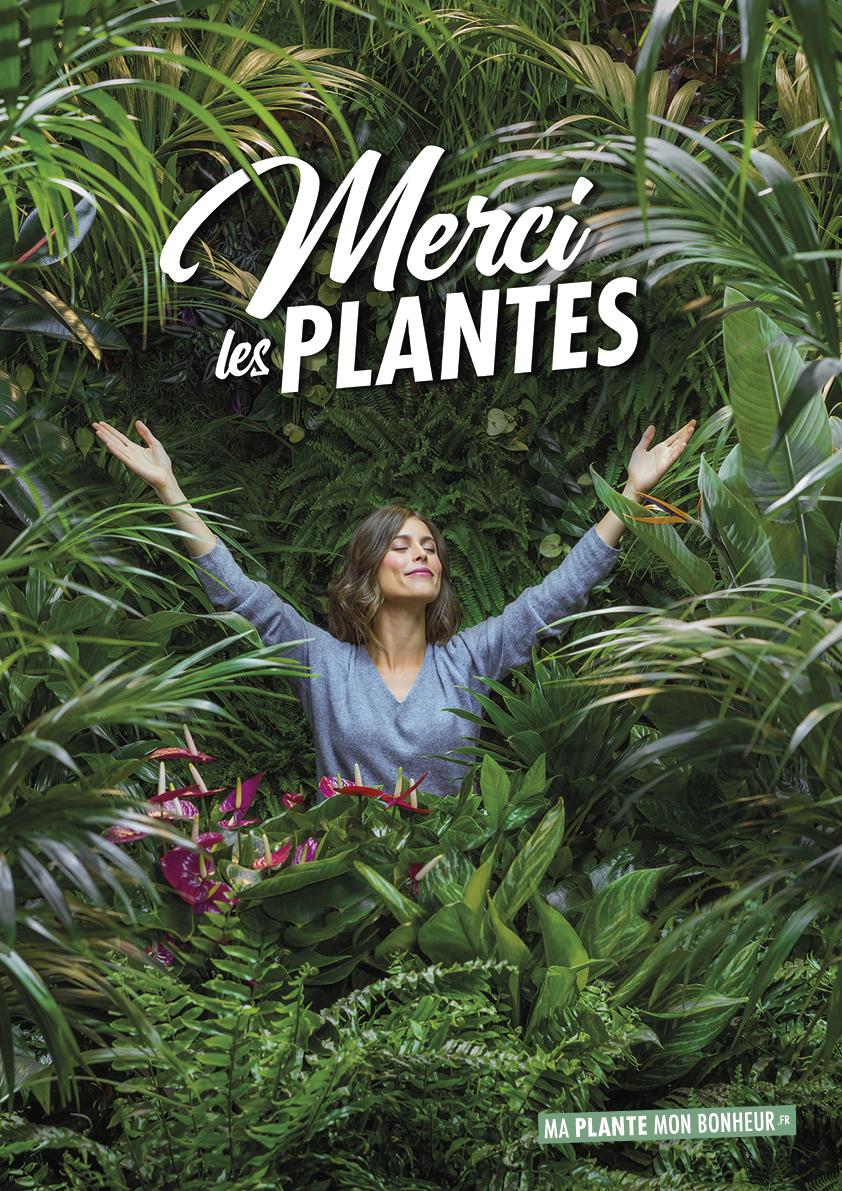 Merci les Plantes affiche campagne