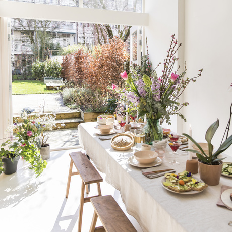 Le printemps sur les sites grand public - Hanami brunch